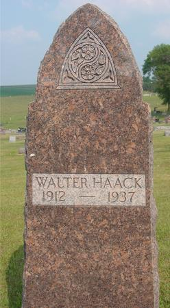 HAACK, WALTER - Ida County, Iowa | WALTER HAACK