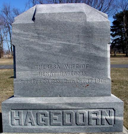 HAGEDORN, THERESA - Ida County, Iowa | THERESA HAGEDORN