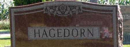 HAGEDORN, WILLIAM F. - Ida County, Iowa   WILLIAM F. HAGEDORN