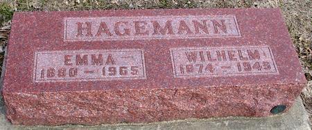 HAGEMANN, WILHELM & EMMA - Ida County, Iowa | WILHELM & EMMA HAGEMANN