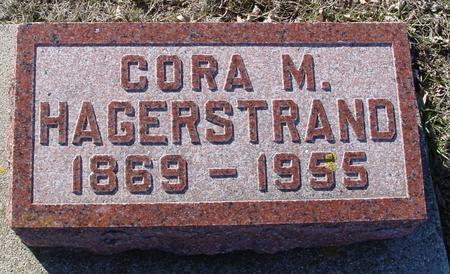 HAGERSTRAND, CORA - Ida County, Iowa   CORA HAGERSTRAND