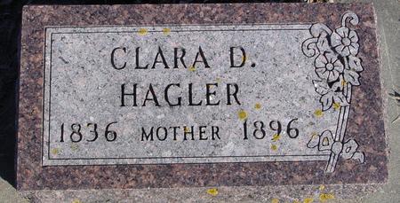 HAGLER, CLARA D. - Ida County, Iowa | CLARA D. HAGLER