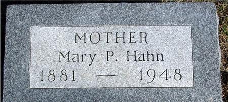 HAHN, MARY P. - Ida County, Iowa | MARY P. HAHN