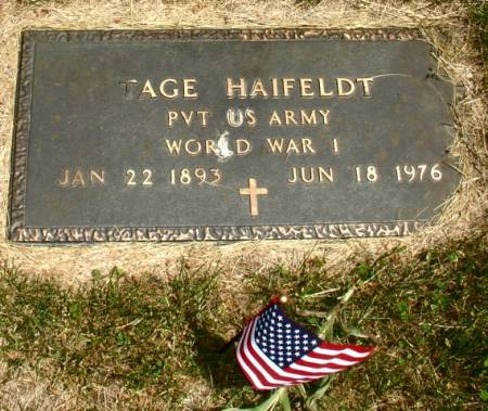 HAIFELDT, TAGE - Ida County, Iowa | TAGE HAIFELDT