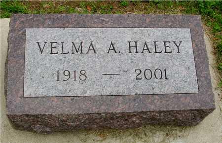 HALEY, VELMA A. - Ida County, Iowa | VELMA A. HALEY