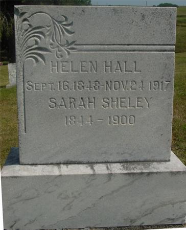 HALL, HELEN - Ida County, Iowa   HELEN HALL