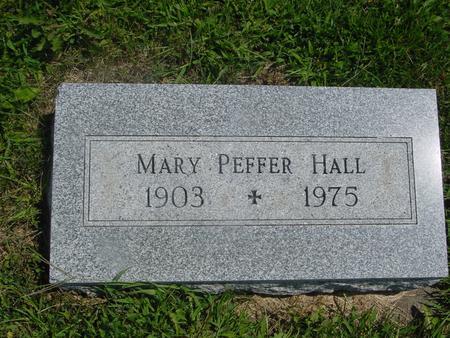 HALL, MARY - Ida County, Iowa | MARY HALL