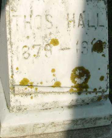 HALL, THOMAS - Ida County, Iowa | THOMAS HALL