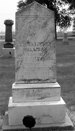 HALLIGAN, CHRISTOPHER - Ida County, Iowa | CHRISTOPHER HALLIGAN