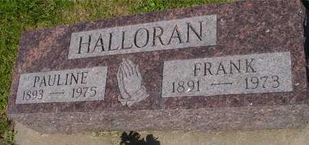 HALLORAN, FRANK & PAULINE - Ida County, Iowa | FRANK & PAULINE HALLORAN
