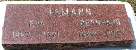 HAMANN, BERNHARD & EVA - Ida County, Iowa   BERNHARD & EVA HAMANN
