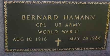 HAMANN, BERNARD - Ida County, Iowa | BERNARD HAMANN