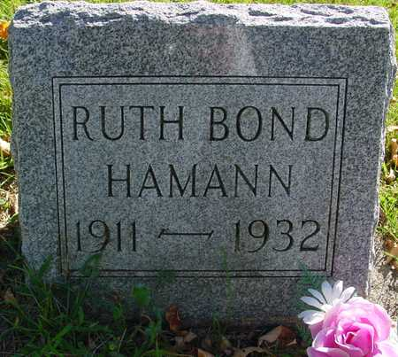 BOND HAMANN, RUTH - Ida County, Iowa | RUTH BOND HAMANN
