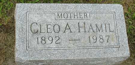 HAMIL, CLEO A. - Ida County, Iowa | CLEO A. HAMIL