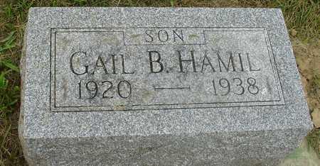 HAMIL, GAIL B. - Ida County, Iowa   GAIL B. HAMIL