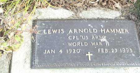 HAMMER, LEWIS ARNOLD - Ida County, Iowa | LEWIS ARNOLD HAMMER