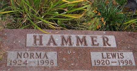 HAMMER, LEWIS & NORMA - Ida County, Iowa   LEWIS & NORMA HAMMER