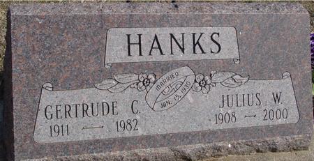 HANKS, JULIUS & GERTRUDE - Ida County, Iowa | JULIUS & GERTRUDE HANKS