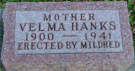 HANKS, VELMA - Ida County, Iowa | VELMA HANKS