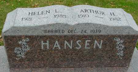 HANSEN, ARTHUR & HELEN - Ida County, Iowa   ARTHUR & HELEN HANSEN
