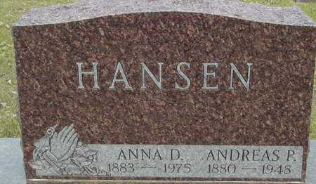 HANSEN, ANDREAS & ANNA - Ida County, Iowa   ANDREAS & ANNA HANSEN