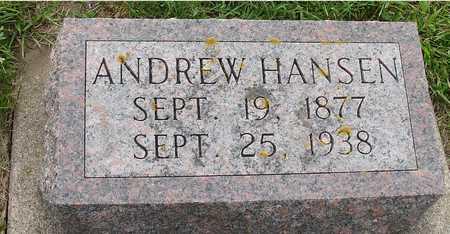 HANSEN, ANDREW - Ida County, Iowa | ANDREW HANSEN