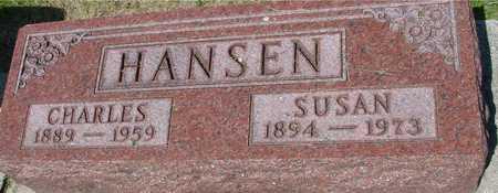 HANSEN, CHARLES & SUSAN - Ida County, Iowa   CHARLES & SUSAN HANSEN