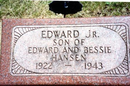 HANSEN, EDWARD JR. - Ida County, Iowa | EDWARD JR. HANSEN