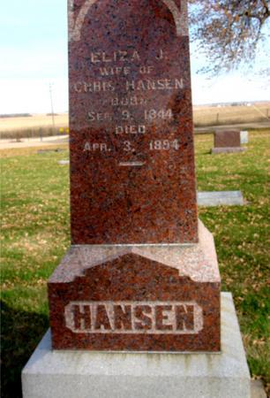 HANSEN, ELIZA J. - Ida County, Iowa | ELIZA J. HANSEN