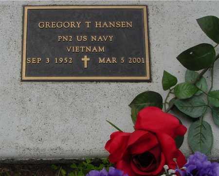 HANSEN, GREGORY T. - Ida County, Iowa | GREGORY T. HANSEN