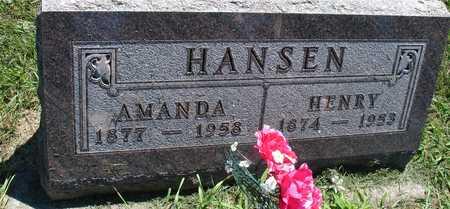 HANSEN, HENRY & AMANDA - Ida County, Iowa   HENRY & AMANDA HANSEN