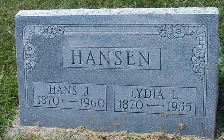 HANSEN, HANS & LYDIA - Ida County, Iowa | HANS & LYDIA HANSEN