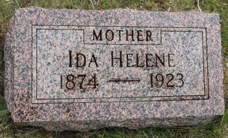 HANSEN, IDA HELENE - Ida County, Iowa   IDA HELENE HANSEN