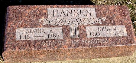 HANSEN, JOHN R. & ALVINA - Ida County, Iowa | JOHN R. & ALVINA HANSEN