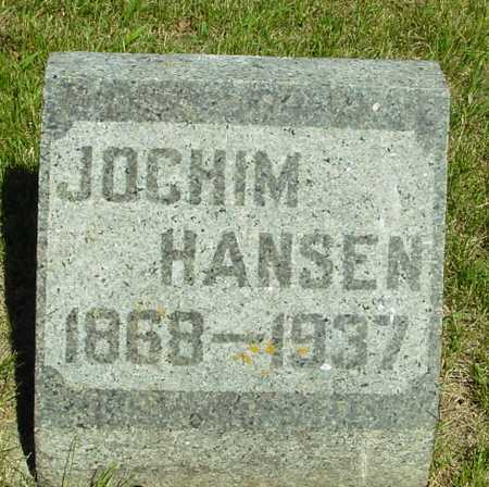 HANSEN, JOCHIM - Ida County, Iowa   JOCHIM HANSEN