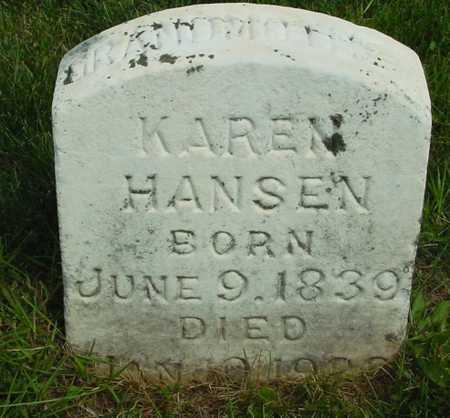HANSEN, KAREN - Ida County, Iowa | KAREN HANSEN