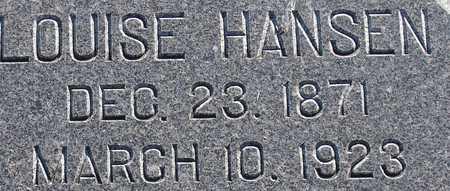 HANSEN, LOUISE - Ida County, Iowa | LOUISE HANSEN