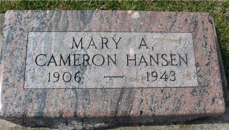HANSEN, MARY A. - Ida County, Iowa | MARY A. HANSEN