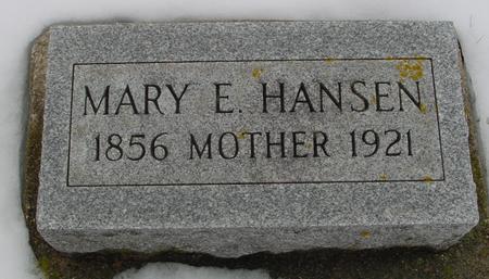 HANSEN, MARY E. - Ida County, Iowa | MARY E. HANSEN