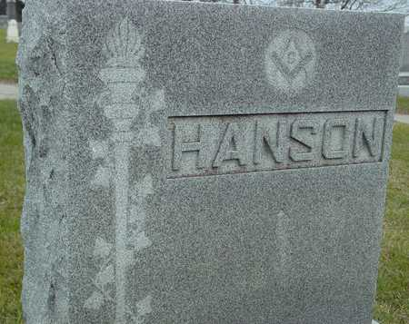 HANSON, FAMILY MARKER - Ida County, Iowa | FAMILY MARKER HANSON
