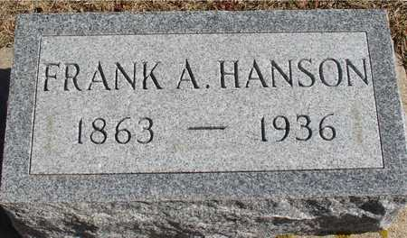 HANSON, FRANK A. - Ida County, Iowa   FRANK A. HANSON