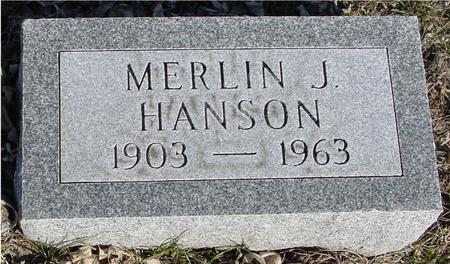HANSON, MERLIN J. - Ida County, Iowa | MERLIN J. HANSON