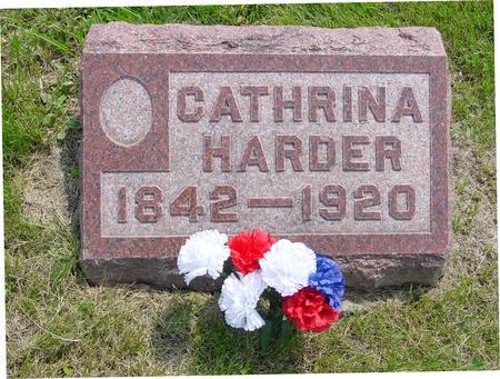HARDER, CATHRINA - Ida County, Iowa | CATHRINA HARDER
