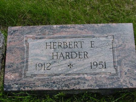 HARDER, HERBERT - Ida County, Iowa | HERBERT HARDER