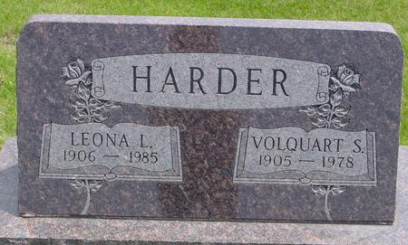 HARDER, VOLQUART - Ida County, Iowa | VOLQUART HARDER