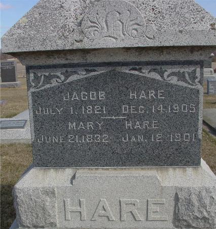HARE, JACOB - Ida County, Iowa | JACOB HARE