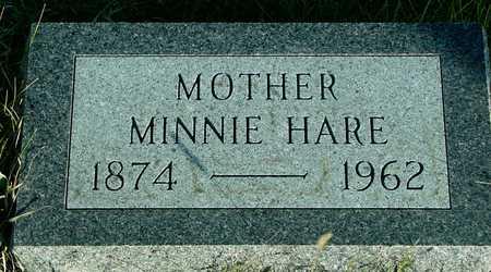 HARE, MINNIE - Ida County, Iowa | MINNIE HARE