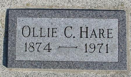 HARE, OLLIE C. - Ida County, Iowa | OLLIE C. HARE