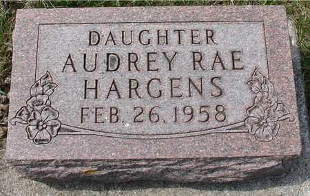 HARGENS, AUDREY RAE - Ida County, Iowa | AUDREY RAE HARGENS