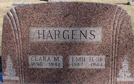 HARGENS, CLARA M. - Ida County, Iowa | CLARA M. HARGENS